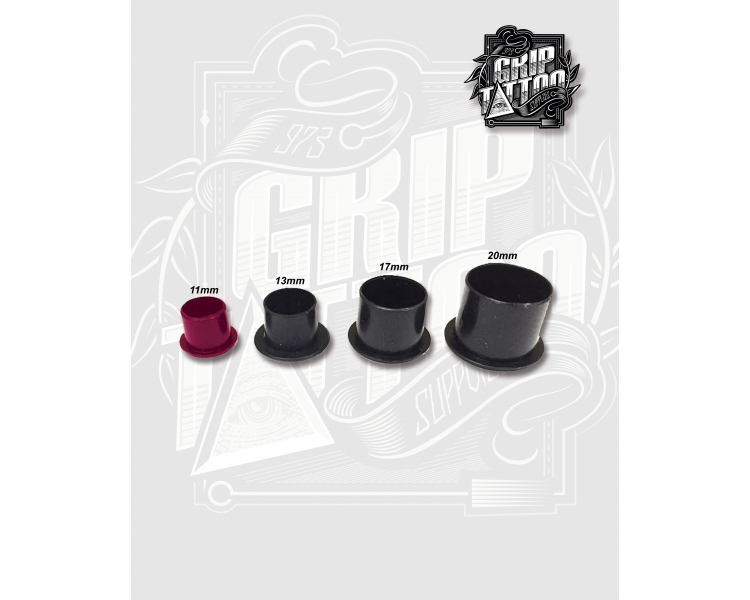 CUPS NEGROS ANTI-DERRAME 11MM