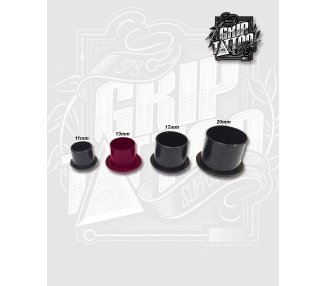500 CUPS NEGROS ANTI-DERRAME 14MM