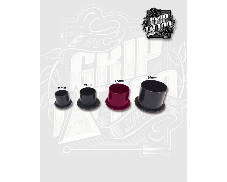 500 CUPS NEGROS ANTI-DERRAME 17MM