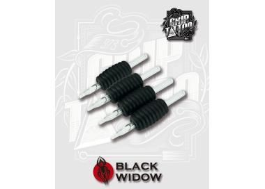 3 ROUND GRIP BLACK WIDOW 25MM
