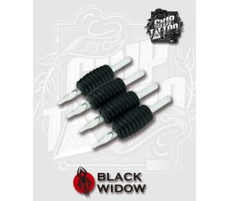 11 ROUND GRIP BLACK WIDOW 25MM
