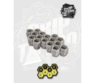 BOLSA DE 200 HIVE CAPS (GRIS)