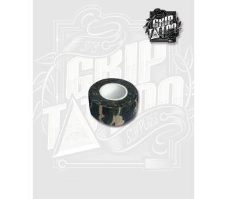 VENDA ELASTICA COHESIVA CAMUFLAJE VERDE 2.5cm X 4,5m