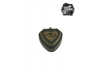 PEDAL SUPERMAN NEGRO/DORADO