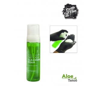 GREEN SOAP FOAM ALOE TATTOO 220ML