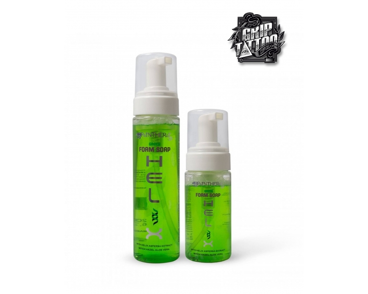 GREEN SOAP FOAM PANTHERA HELIX 200ml