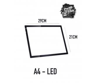 MESA DE LUZ DE LED A4