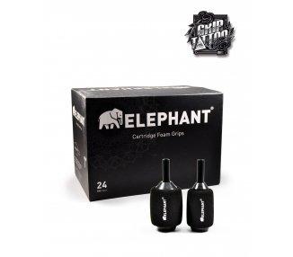 CAJA DE 24 GRIPS DESECHABLES CON FOAM ELEPHANT 37MM