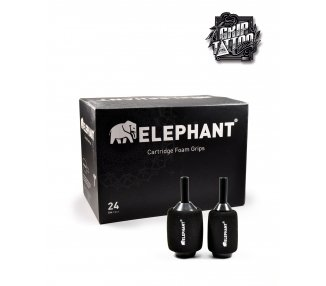 1 GRIP DESECHABLES CON FOAM ELEPHANT 37MM
