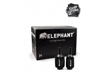10 GRIPS DESECHABLES CON FOAM ELEPHANT 25MM