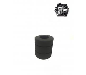 10 FUNDAS DE ESPUMA DESECHABLES 45mm