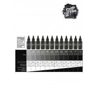 SET CARBON BLACK 13 X 50ML
