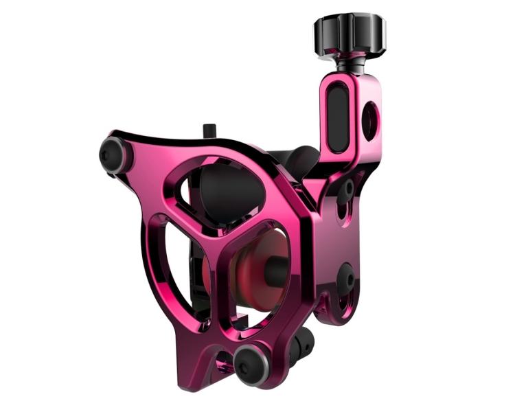 Máquina De Tatuar (COLOR) FK Irons AL13 Galaxie III Aluminio en Bubblegum (Rosa) - Colour Packer