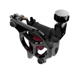 Máquina De Tatuar (SOMBRA) FK Irons AL13 Galaxie III Aluminio En Negro - Soft Shader