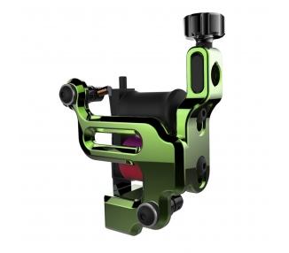Máquina De Tatuar (LINEA) FK Irons AL13 Roswell Aluminio En Kryptonite (Verde) - Power Liner