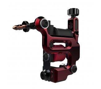 Máquina De Tatuar (COLOR) FK Irons AL13 Roswell Aluminio En Ruby (Rojo) - Colour Packer