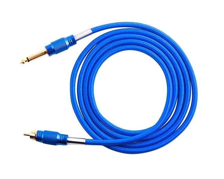 Cable RCA premium azul