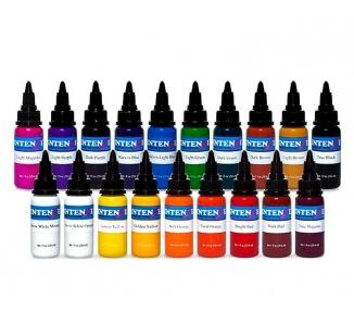 Set basic colors Intenze 19 X 30ml
