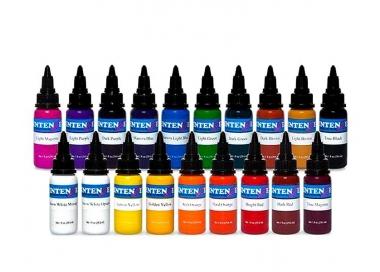 Ser basic colors Intenze 19 X 30ml