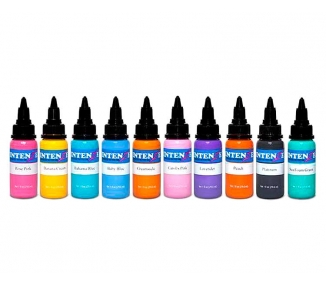 Set pastel Intenze 10 X 30ml