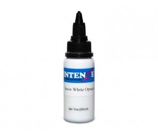 Tinta para tatuar Intenze Snow white opaque 30ML