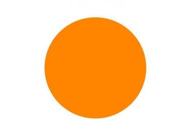 Tinta para tatuar Intenze bright orange 30ML