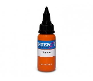 Tinta para tatuar Intenze sunburn 30ML
