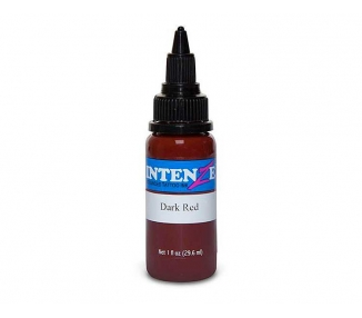 Tinta para tatuar Intenze dark red 30ML