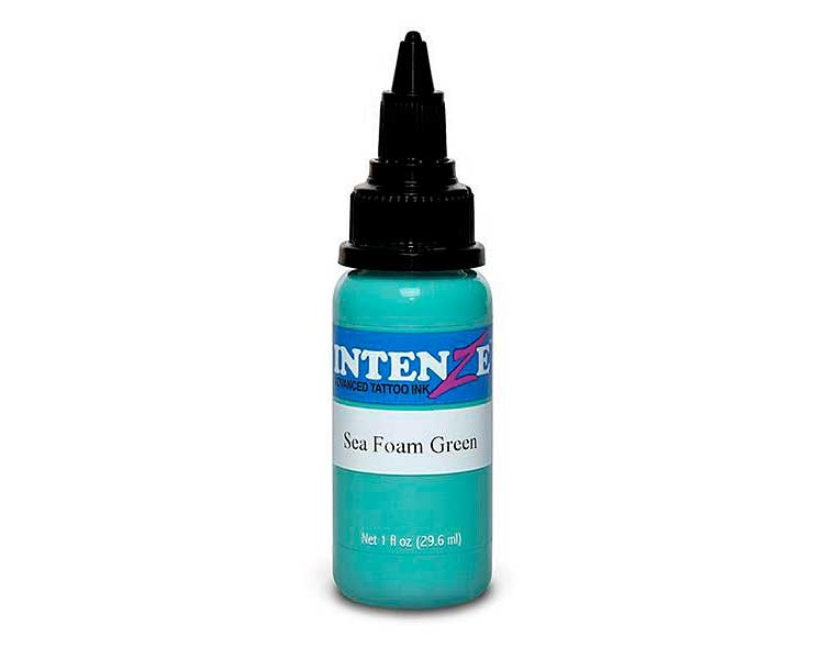 Tinta para tatuar Intenze seafoam green 30ML