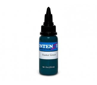 Tinta para tatuar Intenze hunter green 30ML