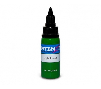 Tinta para tatuar Intenze light green 30ML