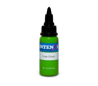 Tinta para tatuar Intenze lime green 30ML