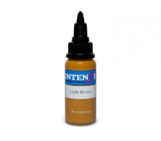 Tinta para tatuar Intenze light brown 30ML