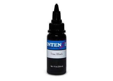 Tinta para tatuar Intenze true black 4 OZ/120ml