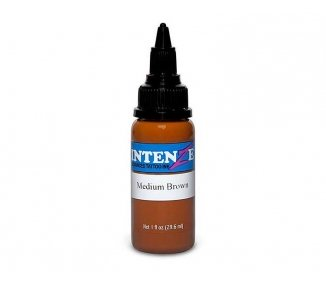 Tinta para tatuar Intenze medium brown 30ML