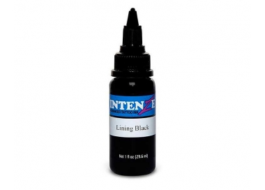 Tinta para tatuar Intenze lining black 4 OZ