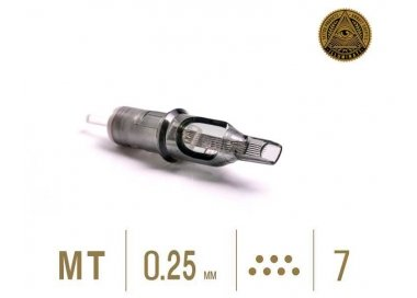CAJA DE 20 CARTUCHOS ILLUMINATI M1 0,25MM PLANA PARA SOMBRA / RELLENO