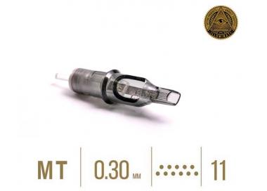 CAJA DE 20 CARTUCHOS ILLUMINATI M1 0,30MM PLANA PARA SOMBRA / RELLENO
