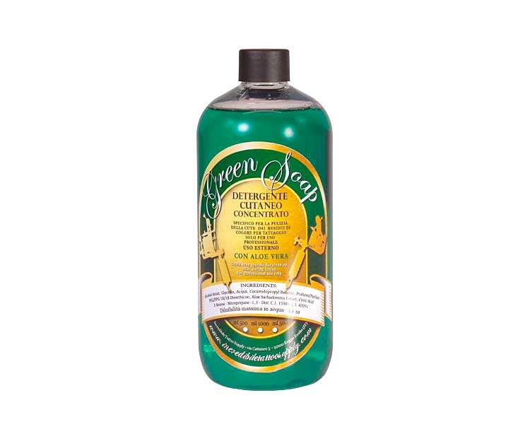 GREEN SOAP CONCENTRADO LAURO PAOLINI 1000ml