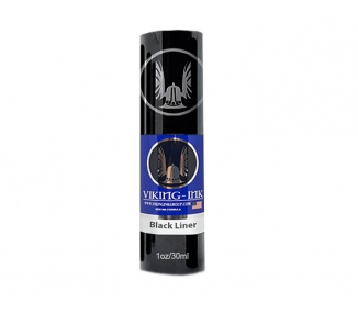 Viking ink black liner 30ml
