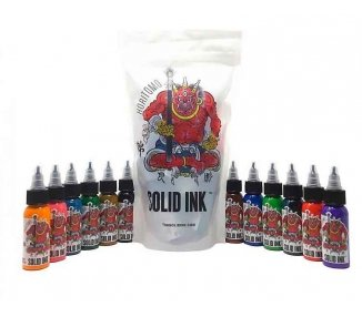 Solid Ink Set Horitomo 12 x 1oz