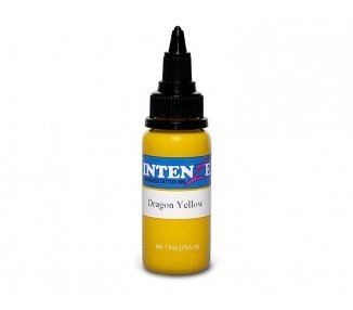 Tinta para tatuar Intenze dragon yellow 30ML