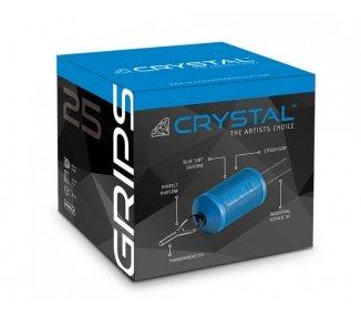 13 Round grip crystal 25mm 20uni