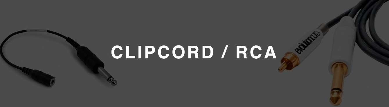 Clipcord/RCA de todas las marcas y calidades para tu máquina de tatuar