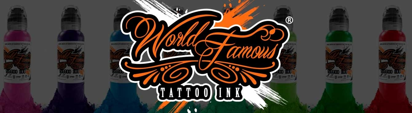 Tinta para tatuar World Famous | Grip Tattoo Supplies