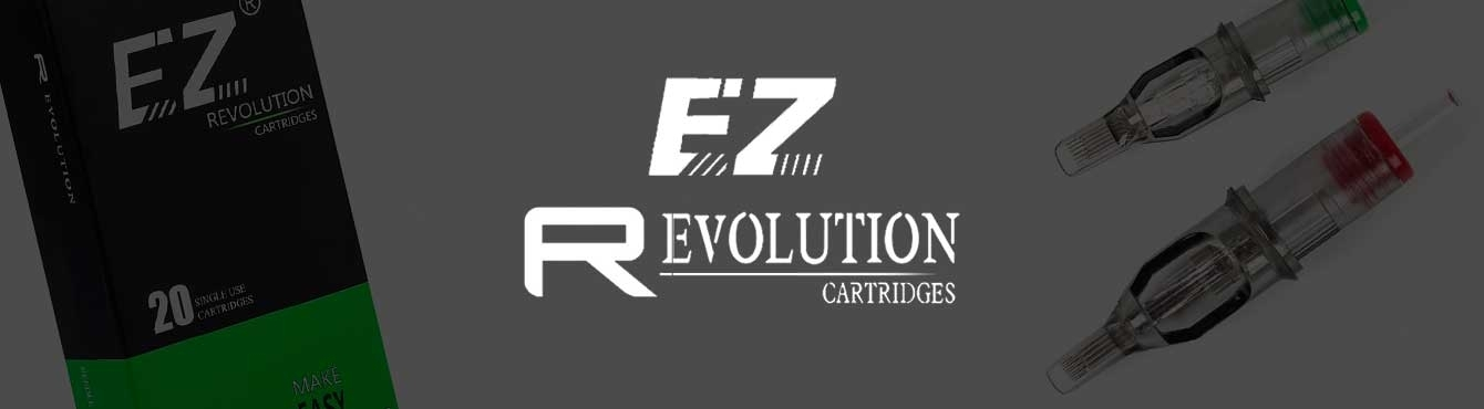 Cartuchos ez revolution cartridge | Grip Tattoo Supplies