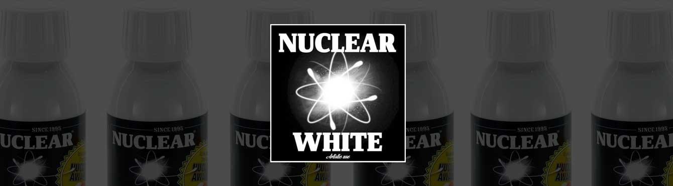Tinta para tatuar Nuclear White