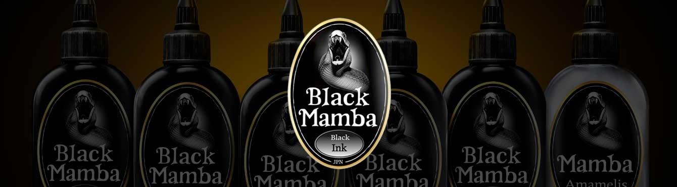 Tinta para tatuar Black Mamba