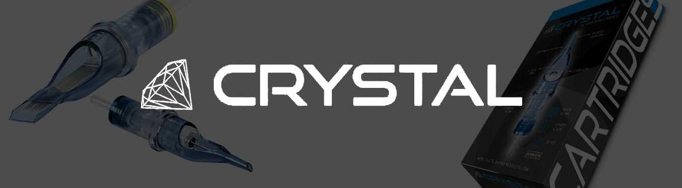 Cartuchos Crystal   Grip Tattoo Supplies