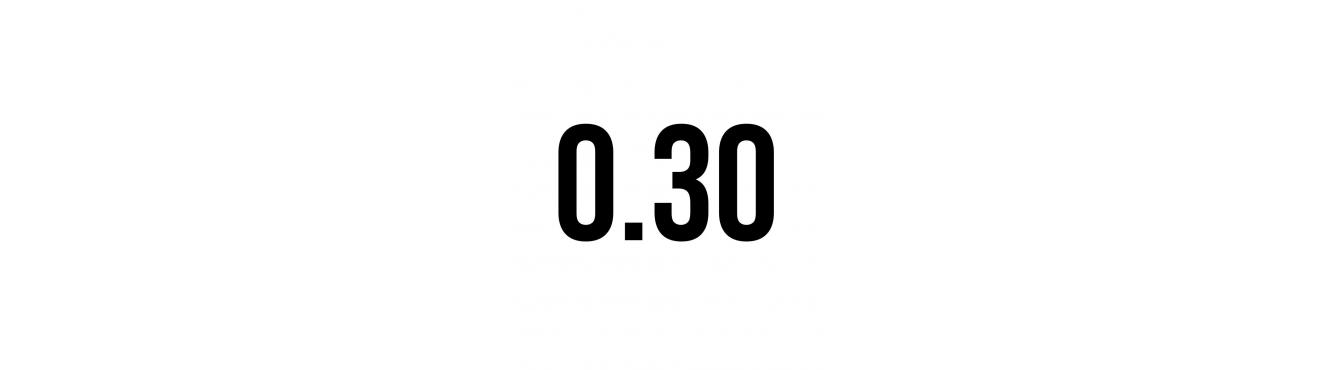 CARTUCHOS POISON MAGNUM 0,30mm